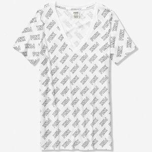 PINK VS VICTORIA'S SECRET Tee Tshirt L